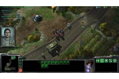 STARCRAFT II: Wings of Liberty story gameplay / HD / - YouTube