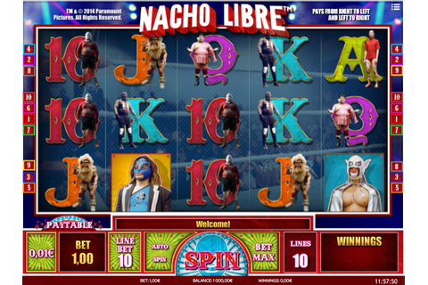 Nacho Libre » FreeSlot Online » Click And Play