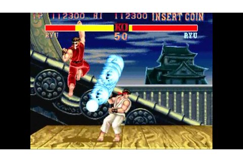 Street Fighter II Champion Edition arcade Kouryu hack 1/2 ...
