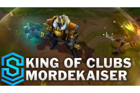 King of Clubs Mordekaiser 2019 Skin Spotlight - League of ...