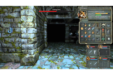 Legend of Grimrock 2 - Ratling boss (hard difficulty ...