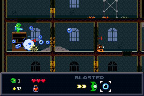 Kero Blaster Heading to Steam on November 11 - Niche Gamer