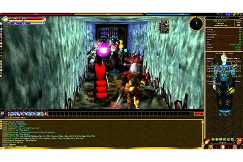 Asheron's Call - 'Raid' Content Gameplay - YouTube