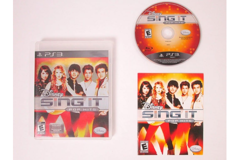 Disney Sing It: Pop Hits game for Sony Playstation 3 PS3 ...