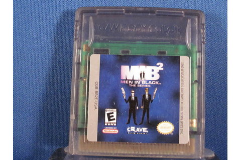 Nintendo Game Boy Color MIB Men In Black The Series 2 | eBay