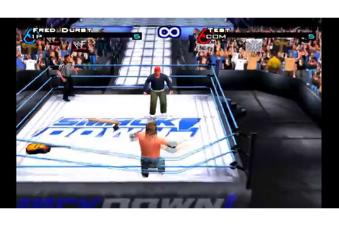 WWF Smackdown Just bring it - Fred Durst Vs Test - YouTube