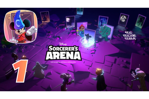 Disney Sorcerer's Arena - NEW FREE GAME - iOS - Gameplay ...