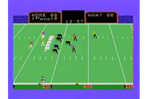 Super Action Football - Colecovision - YouTube