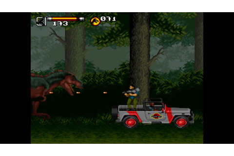 SNES Longplay #30: Jurassic Park 2: The Chaos Continues ...