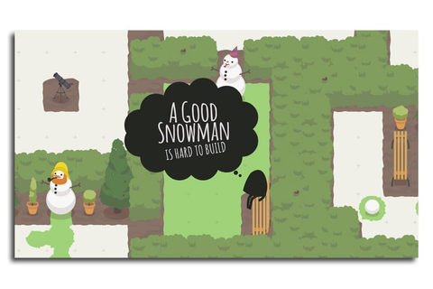 Un especial juego con A Good Snowman is Hard to Build
