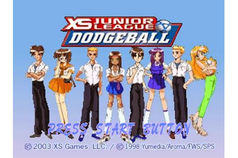 XS Junior League Dodgeball PS1 ISO - Download Game PS1 PSP ...