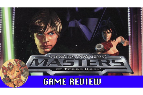 Star Wars Masters of Teräs Käsi (PS1) Game Review - YouTube