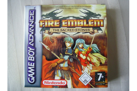 Fire Emblem : The Sacred Stones Game Boy Advance ...