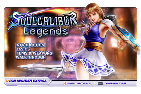 Soulcalibur Legends - wii - Walkthrough and Guide - Page 1 ...