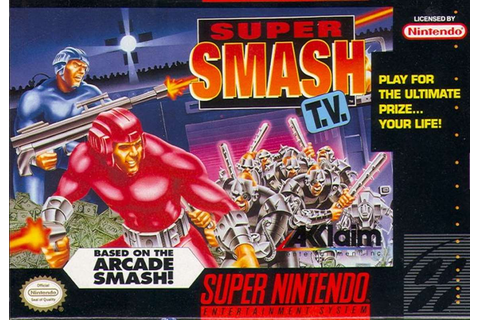 Super Smash TV - SNES trucchi e codici