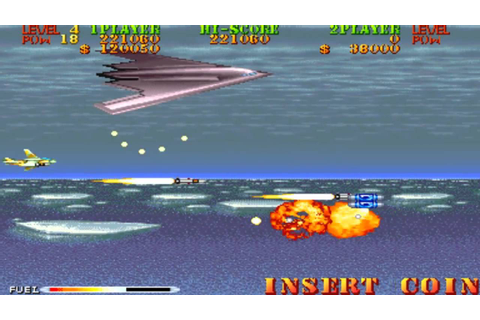 Carrier Air Wing Mission 5 1990 Capcom Mame Retro Arcade ...