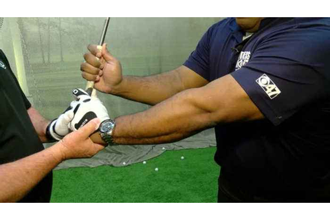 Golf Tips: How to hold the club - One News Page VIDEO