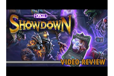 Review: Forced Showdown (Steam) - Defunct Games - YouTube