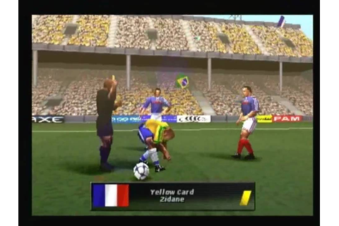 Ronaldo V-Football for the Sony Playstation Review - YouTube