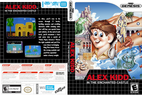 MAXE - Alex Kidd in the Enchanted Castle