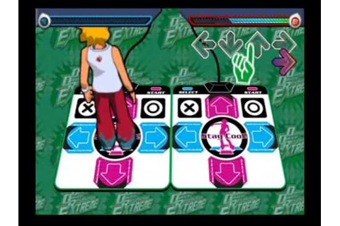 Dance Dance Revolution Extreme (PS2) Title + How to Play ...