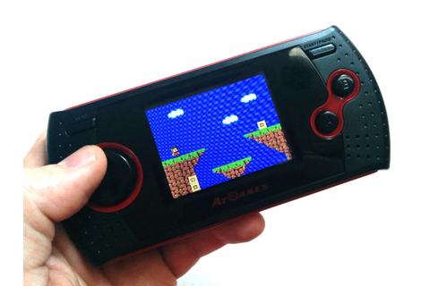Hardware Review: AtGames Arcade Gamer Portable - Nintendo Life