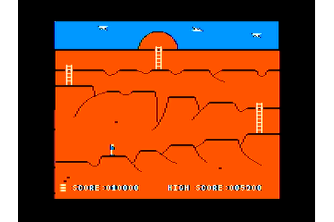 Canyon Climber Screenshots for Apple II - MobyGames