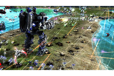 Supreme Commander 2 Revamp Expansion short epic battle ...