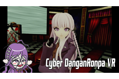 Cyber DanganRonpa VR the class Trial English Demo - YouTube
