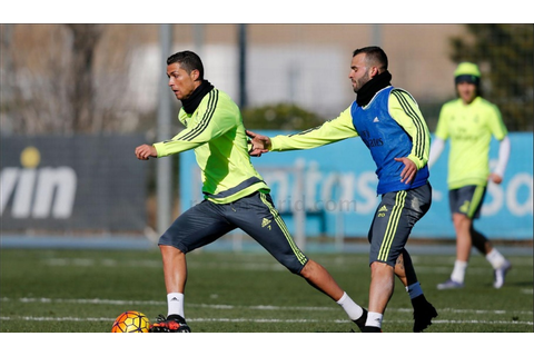 Real Madrid training session continues for Granada game