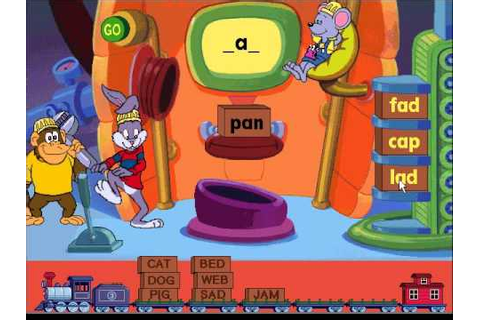 Reader Rabbit's Reading 1: Sorter Game, Level 3 - YouTube