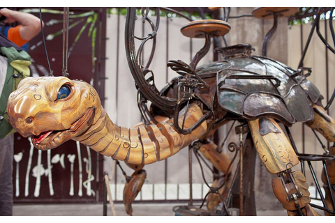 "Take a Tour of France's ""Bestiary of Machines"" 