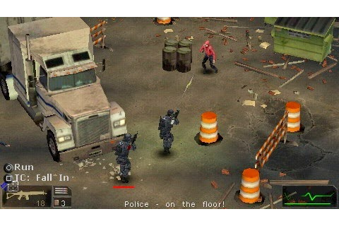 SWAT Target Liberty - Download Game PSP PPSSPP PSVITA Free