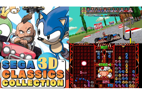SEGA 3D Classics Collection bundles 9 classic games for 3DS
