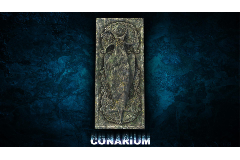 "Second Conarium game asset: ""...These reliefs remind me of ..."