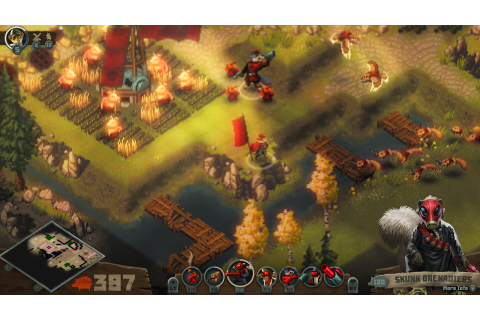 Tooth and Tail is a Pixelated RTS Filled with Animal ...