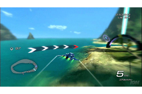 Fatal Inertia EX PlayStation 3 Gameplay - Wave Race (HD ...