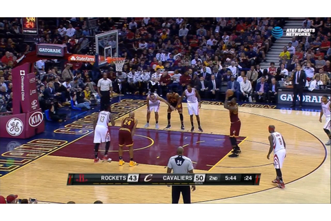 LeBron James airballs a free throw - YouTube