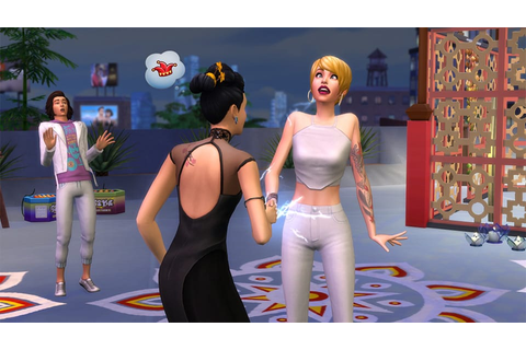 The Sims 4 City Living: 5 New Festival Screens - Sims ...