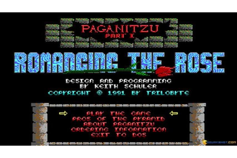 Paganitzu gameplay (PC Game, 1991) - YouTube