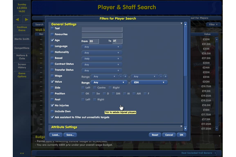 Championship Manager: Season 03/04 Download (2003 Sports Game)