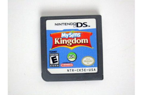 MySims Kingdom game for Nintendo DS | The Game Guy