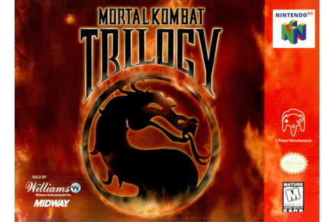 Mortal Kombat Trilogy Nintendo 64 Game