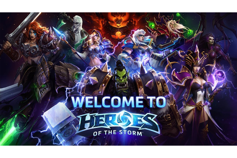 Welcome to Heroes of the Storm - YouTube
