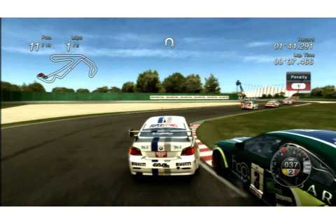 Classic Game Room - V8 SUPERSTARS RACING for PS3 review ...