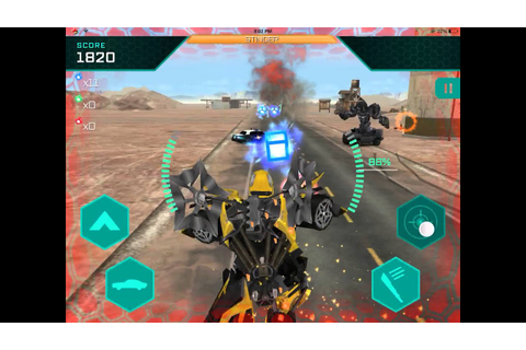 Transformers Age Of Extinction Mobile Game:Bumblebee Vs ...
