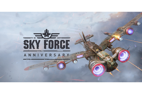 Sky Force Anniversary | Wii U download software | Games ...