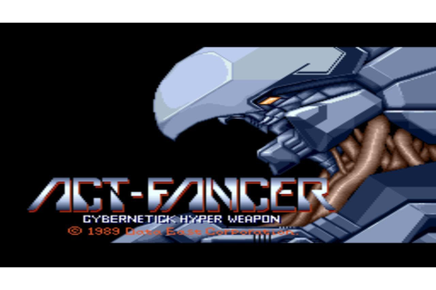 Act-Fancer Cybernetick Hyper Weapon 1989 Data East Mame ...