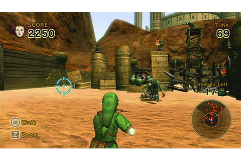 Link's Crossbow Training (Wii) Game Profile | News ...