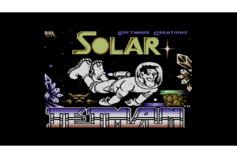 "Rob Plays ""Solar Jetman"" (Unreleased C64 Game) - YouTube"